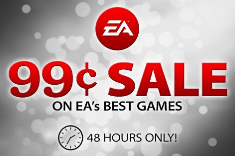 EA iPhone $0.99 sale